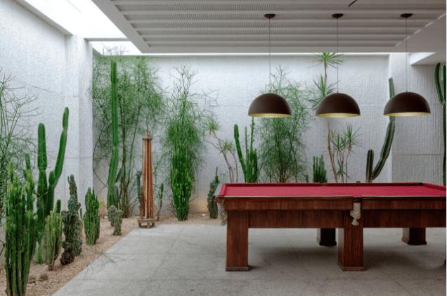 De que maneira as plantas ornamentais podem ser usadas em um jardim?